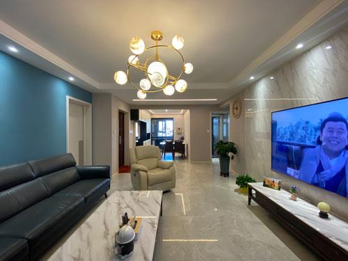 实景拍摄丨玺云台139平米现代轻奢风格装修实景图