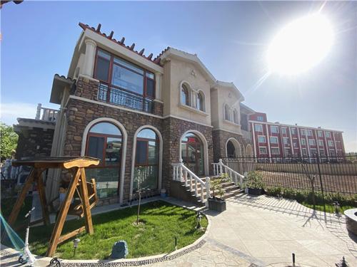实景拍摄丨托斯卡纳600平米美式别墅装修实景图
