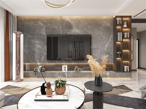 中海铂悦公馆133平米现代风格效果图