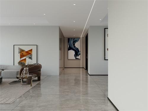 中海铂悦公馆169平米现代极简风格效果图
