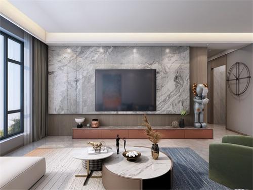中海铂悦公馆146平米现代简约风格效果图