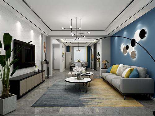 银税花园148平米现代简约风格装修效果图