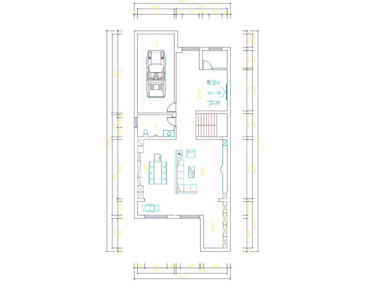 邮悦小区施工图1-平面-1