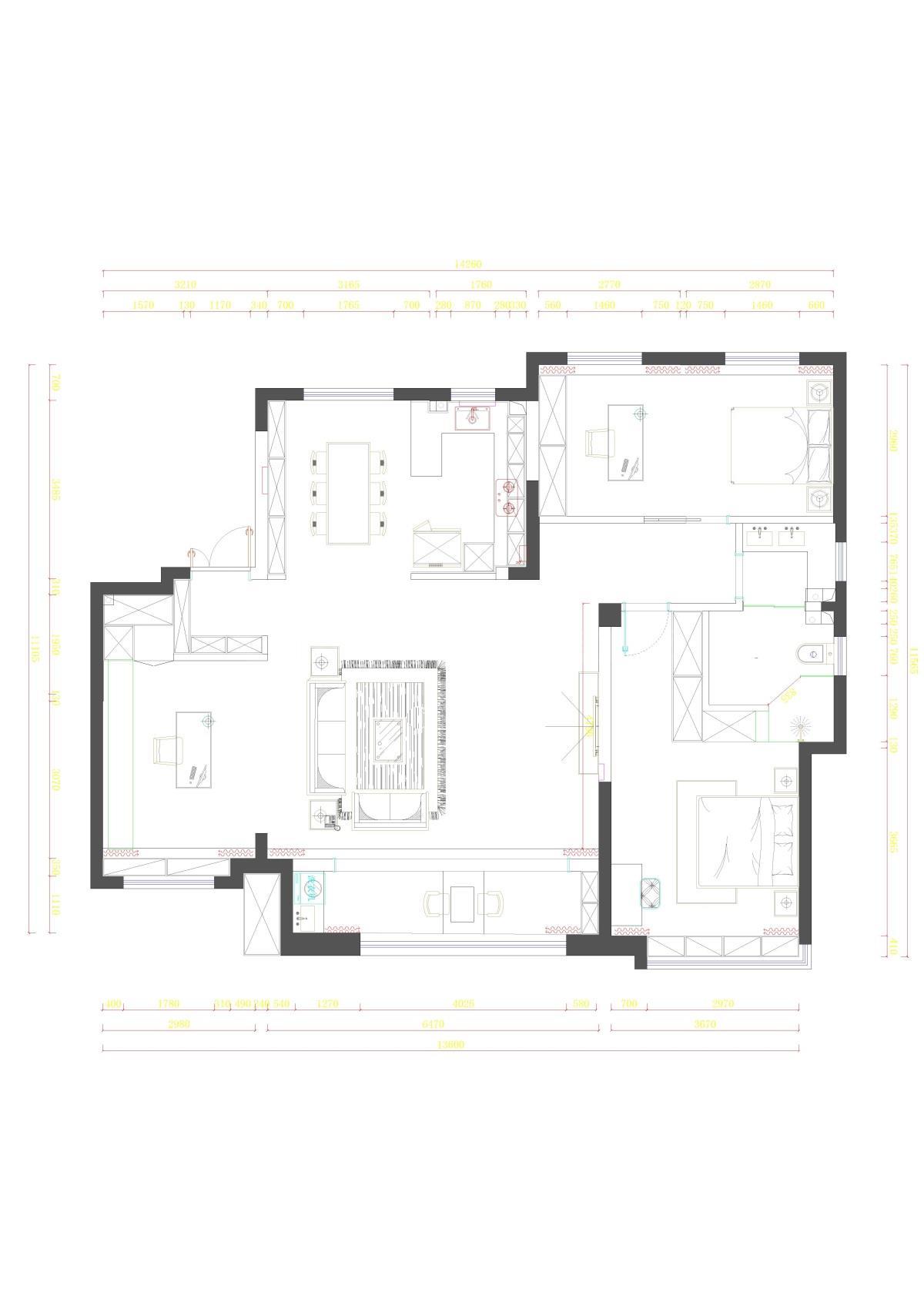 绿地海珀兰轩 15-1-10901 四室三卫-Model