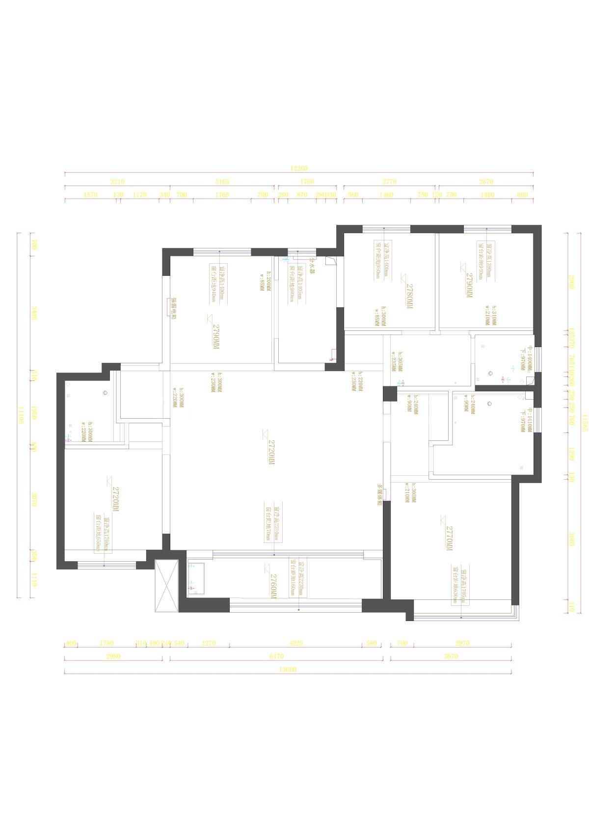 绿地海珀兰轩 15-1-1四室三卫-Model